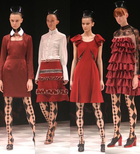 2014年春夏 ファッショントレンド東京コレクションレポート05 モトナリ オノ
