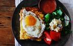 絶品ブランチ「ハムチーズフレンチトースト」