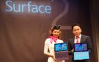 仕事にも大活躍! 神田うのさんも愛用する、マイクロソフト新タブレットの魅力とは?