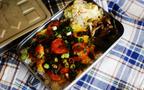 海老と卵が絶妙なコンビの「ピリ辛海老玉弁当」
