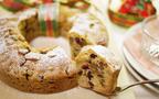 クリスマスにカレとゆっくり食べたい「ラム酒漬けフルーツのリースケーキ」
