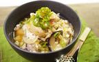 生姜でポカポカ、寒い日に食べたくなる「スープ親子丼」