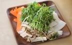 時短レシピ ~ひらひら野菜の鶏すき鍋~