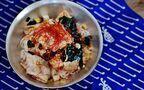 ピリ辛でジメジメを吹っ飛ばす「冷しゃぶわかめ素麺」
