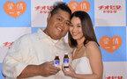 KONISHIKI夫妻がチオビタCM出演! 円満の秘訣は「よく話して、よく触ること」