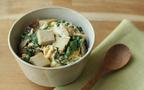 旬の春菊で大人などんぶりレシピ ~時短&ヘルシー! 春菊と高野豆腐の卵とじ丼~