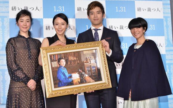 中谷美紀、主演映画『繕い裁つ人』のために1か月で裁縫マスター
