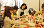 """日本食の新定番! 勇気凛りんさんによる""""手まきごはん""""が楽しくて盛り上がる"""