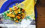 春色&ヘルシーなサラダで大人のおもてなし「そら豆とテンペの春サラダ」