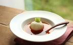 レンジで簡単、体にやさしい「まるごとかぶと桜エビのスープ」