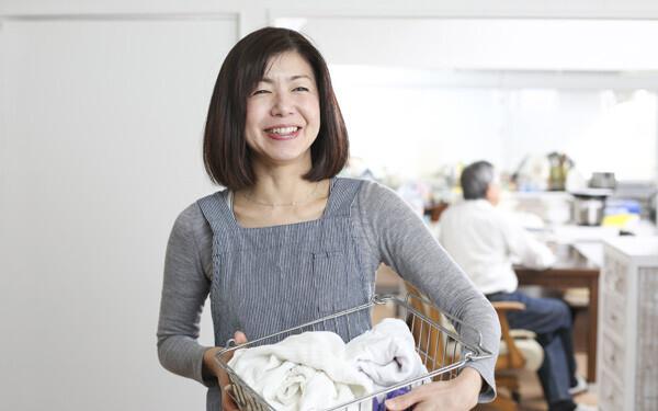 夫の実家に帰省中、洗濯物はどうすればいい?