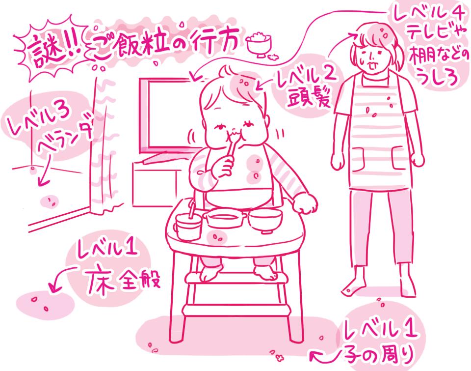 「初夏のプチ怪談~ごはん粒の行方~」 栗生ゑゐこの赤ちゃんカルタVol.34