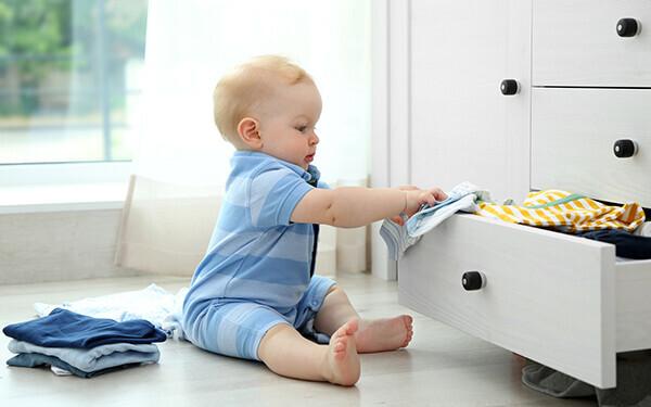 赤ちゃん クローゼット