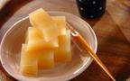 しっとり秋の和スイーツ 「リンゴの水ようかん」