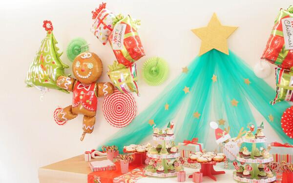 ディズニーキャラクターがお家に! 辰元草子さんのクリスマスハンドメイドパーティー