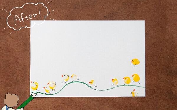 【新連載】スタンプバードの年賀状【おうちで季節イベント お手軽アートレシピ Vol.1】