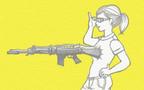 おっぱいがライフルになった日【新米ママ歴14年 紫原明子の家族日記 第9話】