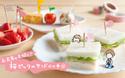 さくら開花!桜ピックのサンドイッチで、お花見の主役!【おうちで季節イベント お手軽アートレシピ Vol.10】