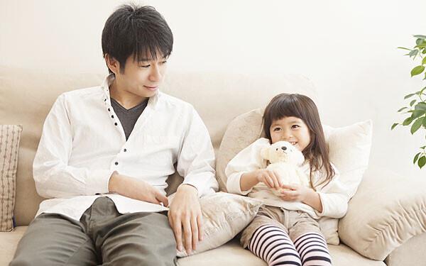パパと話す娘