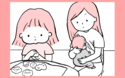 2人育児あるある? 同時多発のギャン泣きパニックに母は…【モチコの親バカ&ツッコミ育児 第4話】