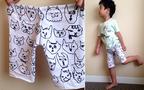 てぬぐいズボンの作り方。手縫いで作れて夏の着替えにも便利!