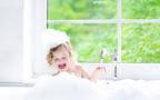 お風呂遊びは泡があれば無限大! 親子で一緒に楽しもう!