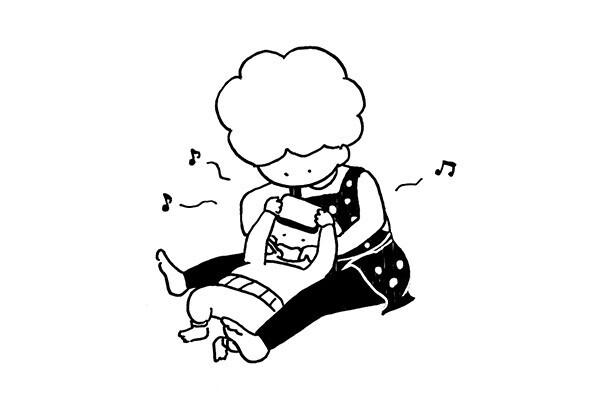 【子育てマンガ】保健師さん直伝の歯磨き技! 嫌がる子供は観念させる?!