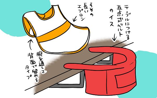 子どもの食べこぼし対策! エプロンと椅子で完璧のはずが、想定の上をいく 【うちのこざんまい 第13話】
