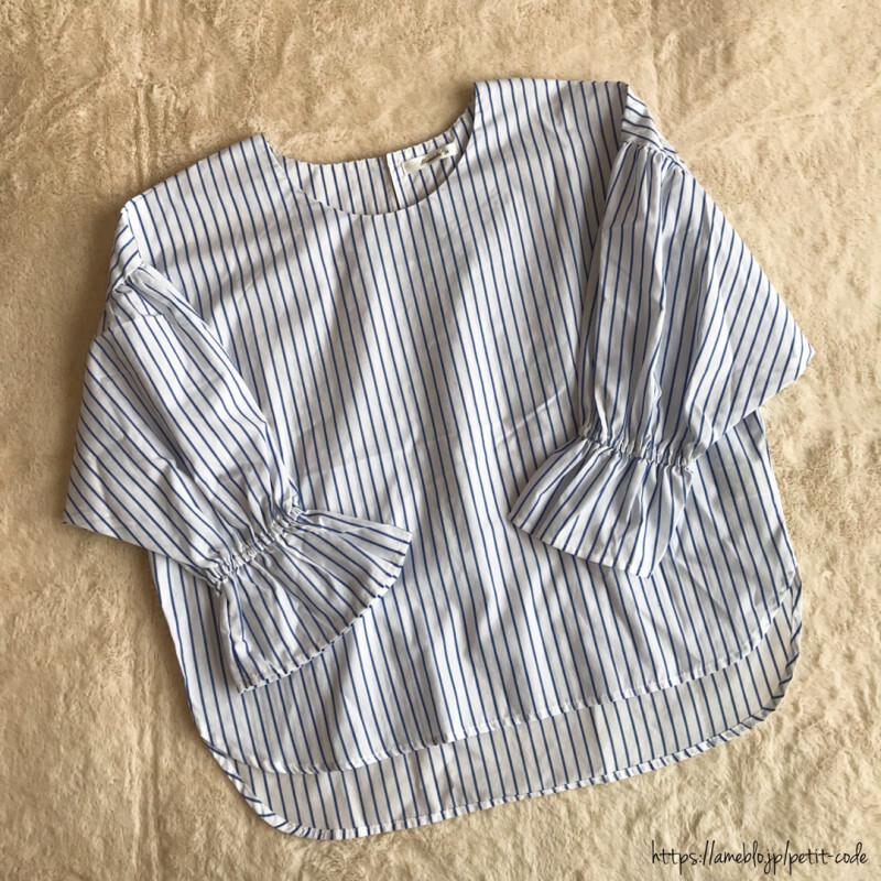 しまむらの「袖コンシャス」がかわいい! 二の腕カバーで細見え効果も◎【しまりんごの毎日しまむらコーデ~アメブロトップブロガー~ Vol.24】