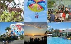 親子で一生の思い出づくり! マレーシア・コタキナバルでビーチ&ジャングル体験