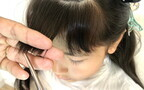 女の子の前髪カット「不器用ママでも失敗知らず」かわいく仕上がる4ステップ
