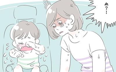車の運転中に突然、子どもが消えた! 号泣する子に何が起こったの【子育ては毎日がたからもの☆ 第29話】
