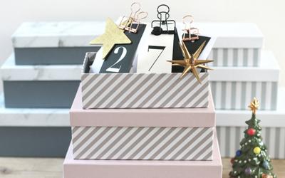 クリスマス、もうひとつのプレゼント「手作りアドベントカレンダー」