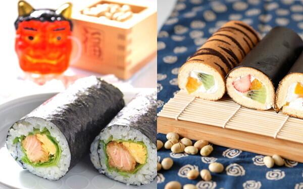 手作り恵方巻き「子どもが丸かぶり!」辛党と甘党2種類レシピ