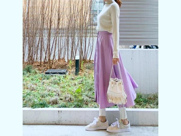 【ユニクロ】大人かわいく着こなす、春の「ペールトーンカラー」コーデ【ユニクロ大人コーデ~アメブロ30代ファッション1位 Hanaさん ~ Vol.46】