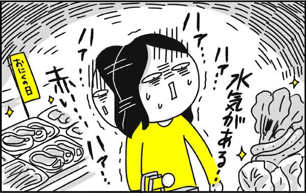 つわりの症状:食材を見るのがツラい