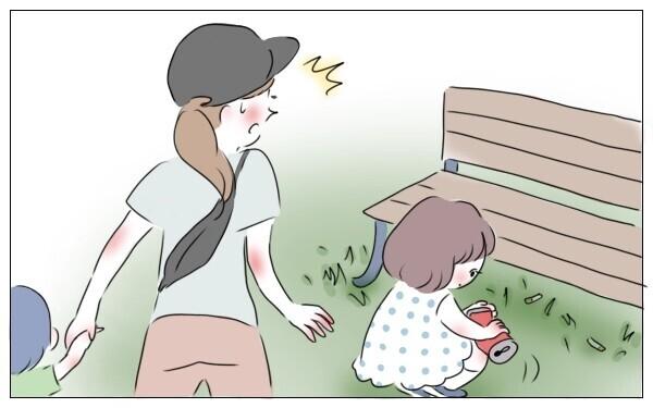 親になって気づいた。公園にはゴミがたくさん落ちている