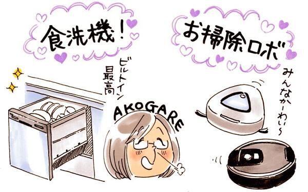 いつか欲しい「食洗器」「お掃除ロボット」