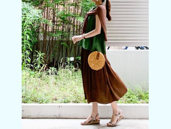 この夏グリーンがかわいい! 「ユニクロ」でつくる上品で心地よい大人コーデ【ユニクロ大人コーデ~アメブロ30代ファッション1位 Hanaさん ~ Vol.56】