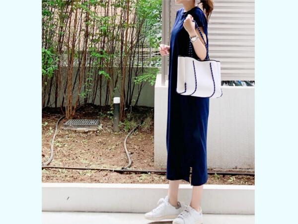 「ユニクロ」3つのブルーでつくる真夏の爽やかコーデ【ユニクロ大人コーデ~アメブロ30代ファッション1位 Hanaさん ~ Vol.58】
