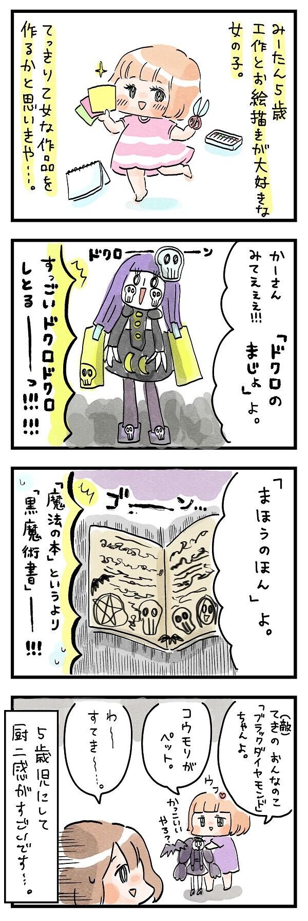 ドクロにコウモリに魔術書…