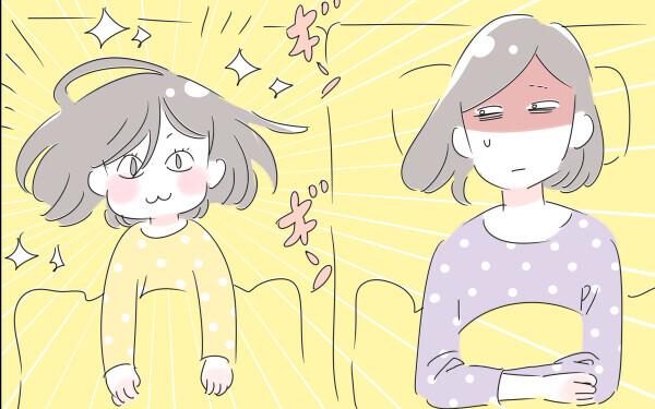 7歳の娘がなかなか寝てくれない~!(涙)わが家の寝かしつけ事情【子育ては毎日がたからもの☆ 第69話】