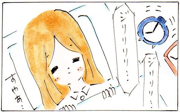 目覚ましを2つかけるほど、朝に起きられないダメ主婦だった…