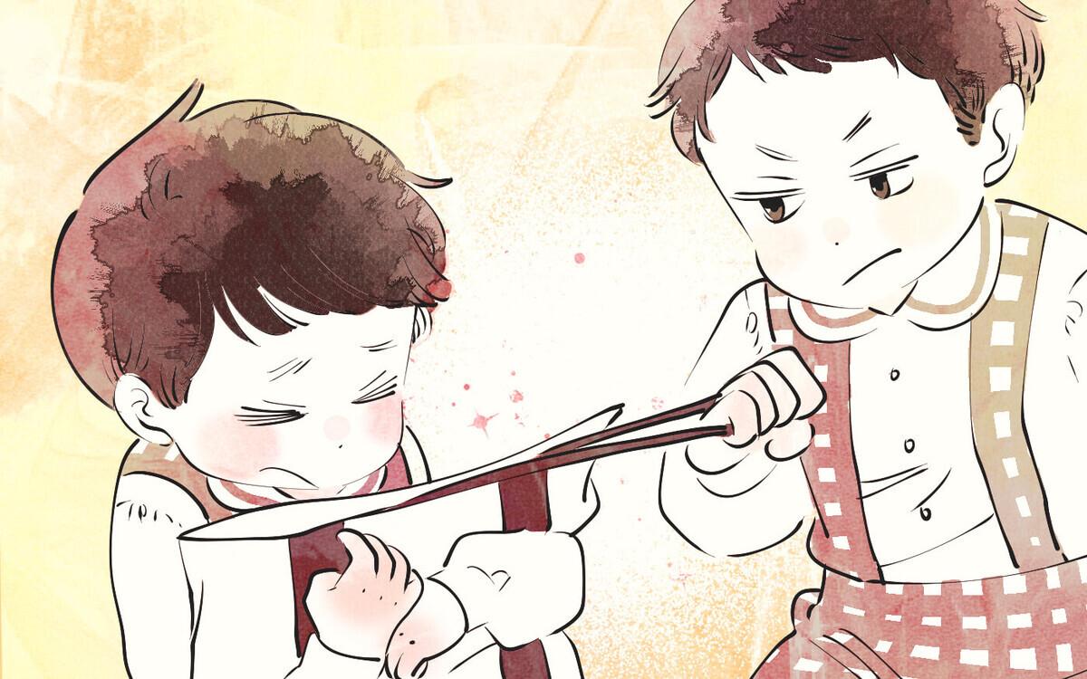 幼稚園での初めての洗礼…『わたしの糸をたぐりよせて』
