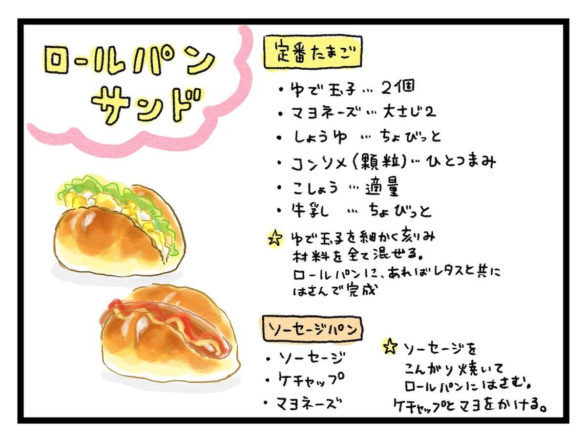 ロールパン系