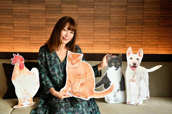 坂本美雨さんと楽しく動物愛護を学ぶ、初オンライン開催の「いぬねこなかまフェス」
