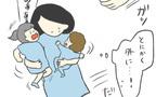 泣き叫ぶ娘を抱えて保育園を脱出! しかし、新たな難関が…【最悪な日。 Vol.3】