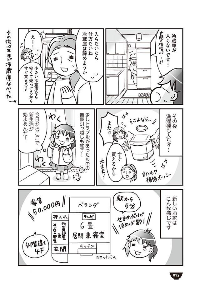 冷蔵庫も洗濯機も入らない…新居での生活は前途多難!?【明日食べる米がない! Vol.2】