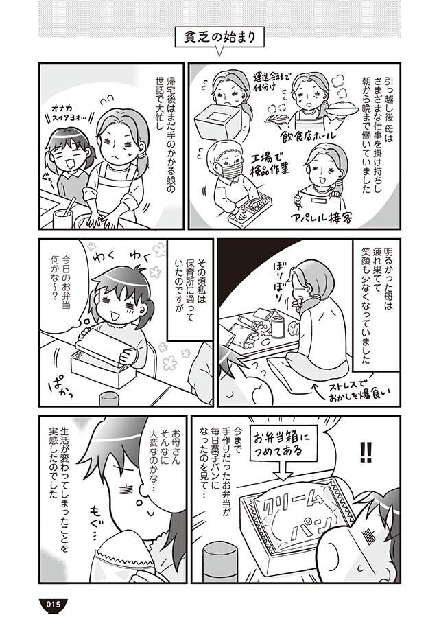 体調を考え仕事を減らした母 その結果、食生活が激変!【明日食べる米がない! Vol.3】