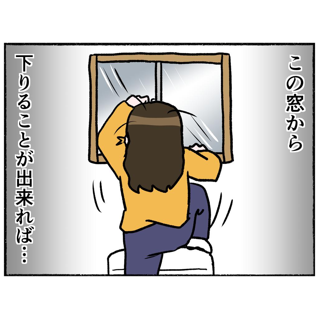病院からの逃走劇 トイレの窓から飛び降りた母の運命は?【母とうつと私 Vol.22】